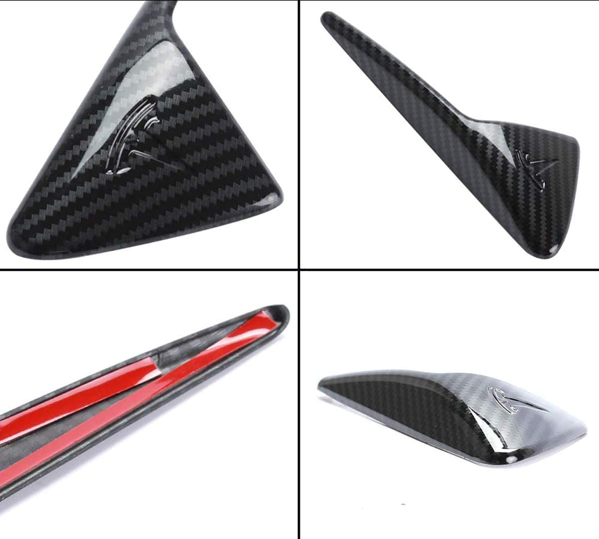 Turn Signal Cover Replacement for Tesla Model 3 /& Model Y sportuli Carbon Fiber Mirror Cover Door Handle Cover