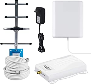 Verizon 4G LTE Cell Phone Signal Booster 700Mhz Band 13 Mobile Signal Booster Amplifier FDD 4G Verizon Cellular Signal Repeater for Home Use with Panel/Yagi Antennas