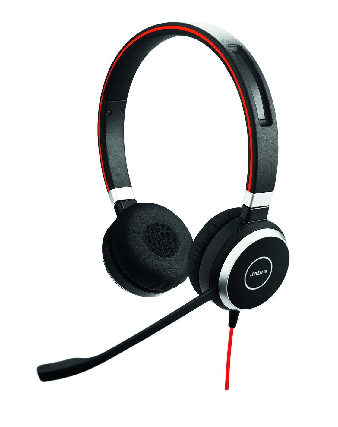 Jabra Evolve 40 Stereo MS - Professional Unified Communicaton Headset 6399-823-109