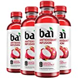 Bai Sumatra Dragonfruit, Antioxidant Infused, Flavored Water Drink, 18 Fluid Ounce Bottles, 6 count