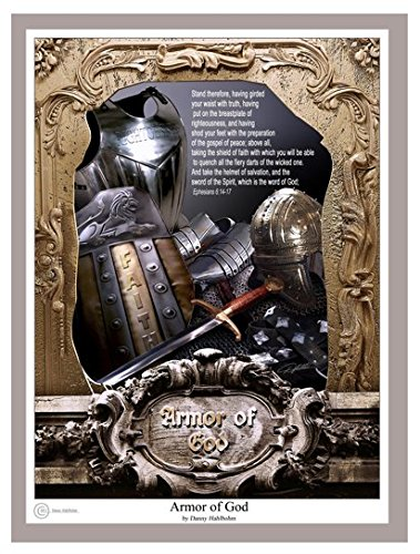 Armor Of God by Danny Hahlbohm - 16x20 Unframed Matted (Armor Of God Poster)
