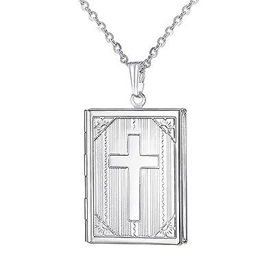 Amazon.com: YOUFENG - Collar con medallón que sostiene ...