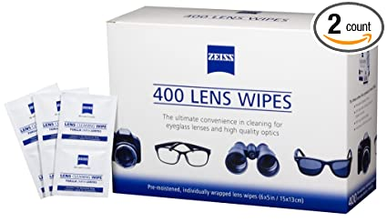 94e283d898 Amazon.com  Zeiss Pre-Moistened Lens Cleaning Wipes 6 x 5-Inches ...