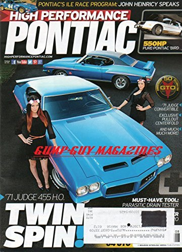 High Performance Pontiac August - Race Performance Proven