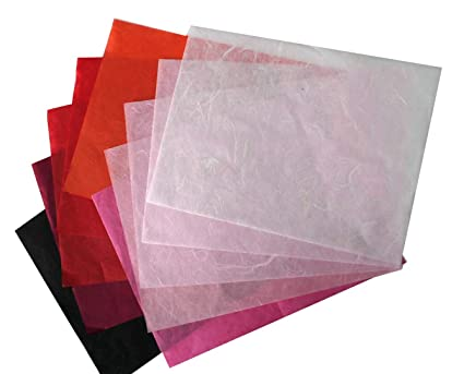 Amazon Com 10 Pcs Mulberry Paper Sheets Crafting Japanese Handmade
