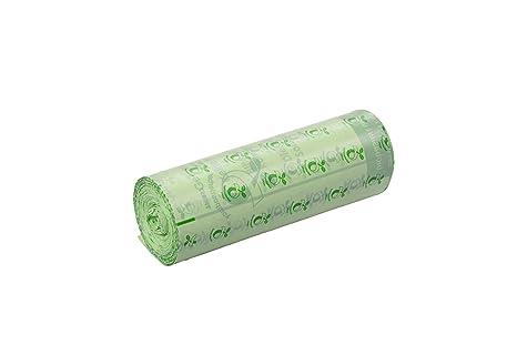 deiss 06028 Bolsa de basura biológica, Compostable, 15 L ...