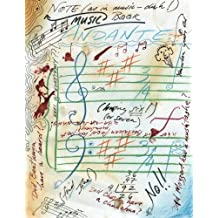 Music Note-Book: ~ not for the faint of heart.
