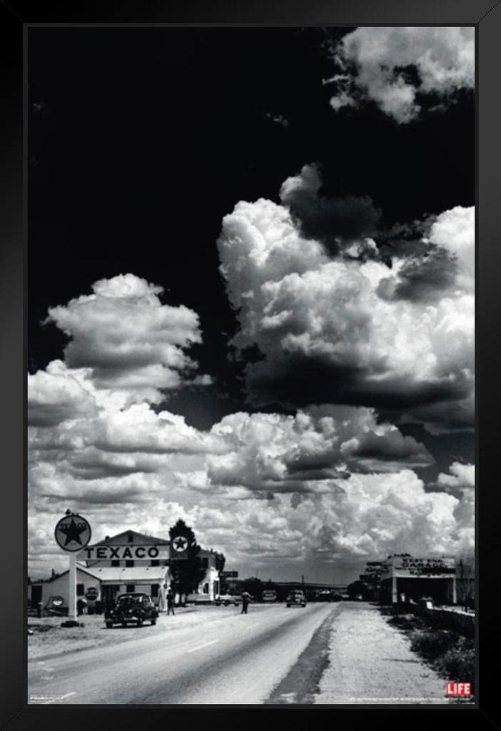 Pyramid America Time Life Route 66 Arizona Photo Black Wood Framed Art Poster 14x20