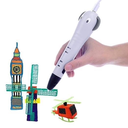 MJZHXM Plumas 3D para niños Inteligente de la Impresora 3D Dibujo ...