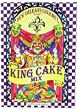 New Orleans Gourmet Foods New Orleans King Cake Mix, 24-Ounce Boxes (Pack of 2)