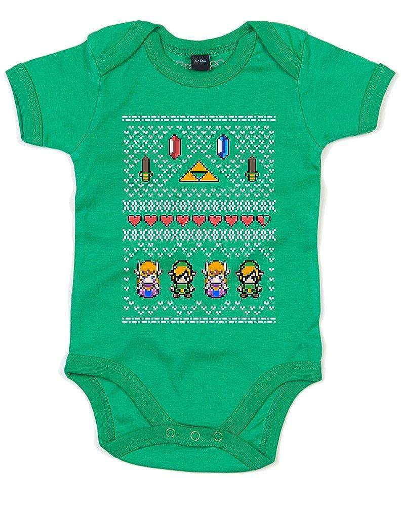 Brand88 Hyrule Christmas, Baby Grow BZ10_BJ005
