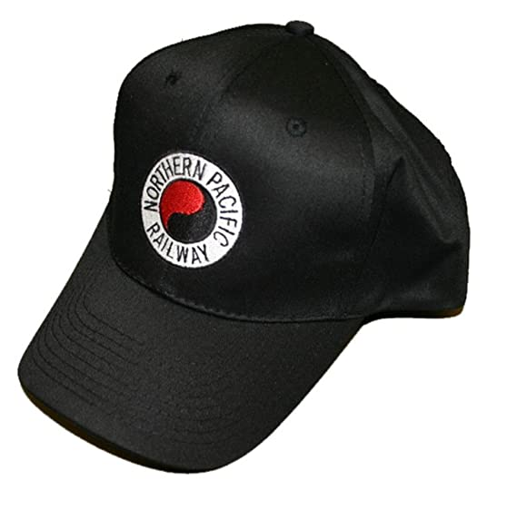 Amazon.com  Northern Pacific Railway Embroidered Hat  hat39   Clothing a736ef90bd2
