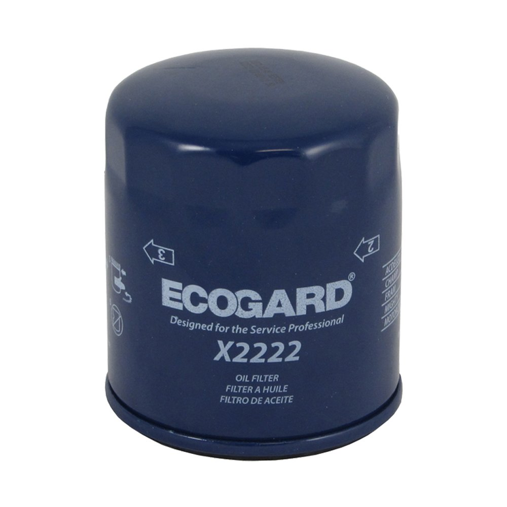 Ecogard X2222 Spin On Engine Oil Filter For Conventional 2009 Pontiac G6 Fuel Premium Replacement Fits Chevrolet Silverado 1500 Malibu Tahoe 2500