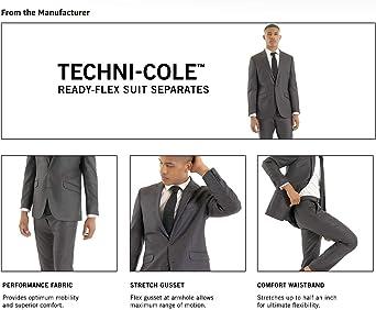 Amazon.com: Kenneth Cole REACTION Techni-Cole - Chaqueta ...