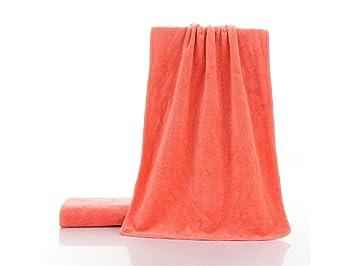 TjcmSs Color sólido Adulto Fibra extrafina Toalla de peluquería Absorbente hogar Limpieza Toalla de Mano (Naranja): Amazon.es: Deportes y aire libre