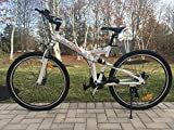 """Image of 26"""" Alloy Folding bike Mountain Bike with Shimano 21 speed and Disc Brakes"""
