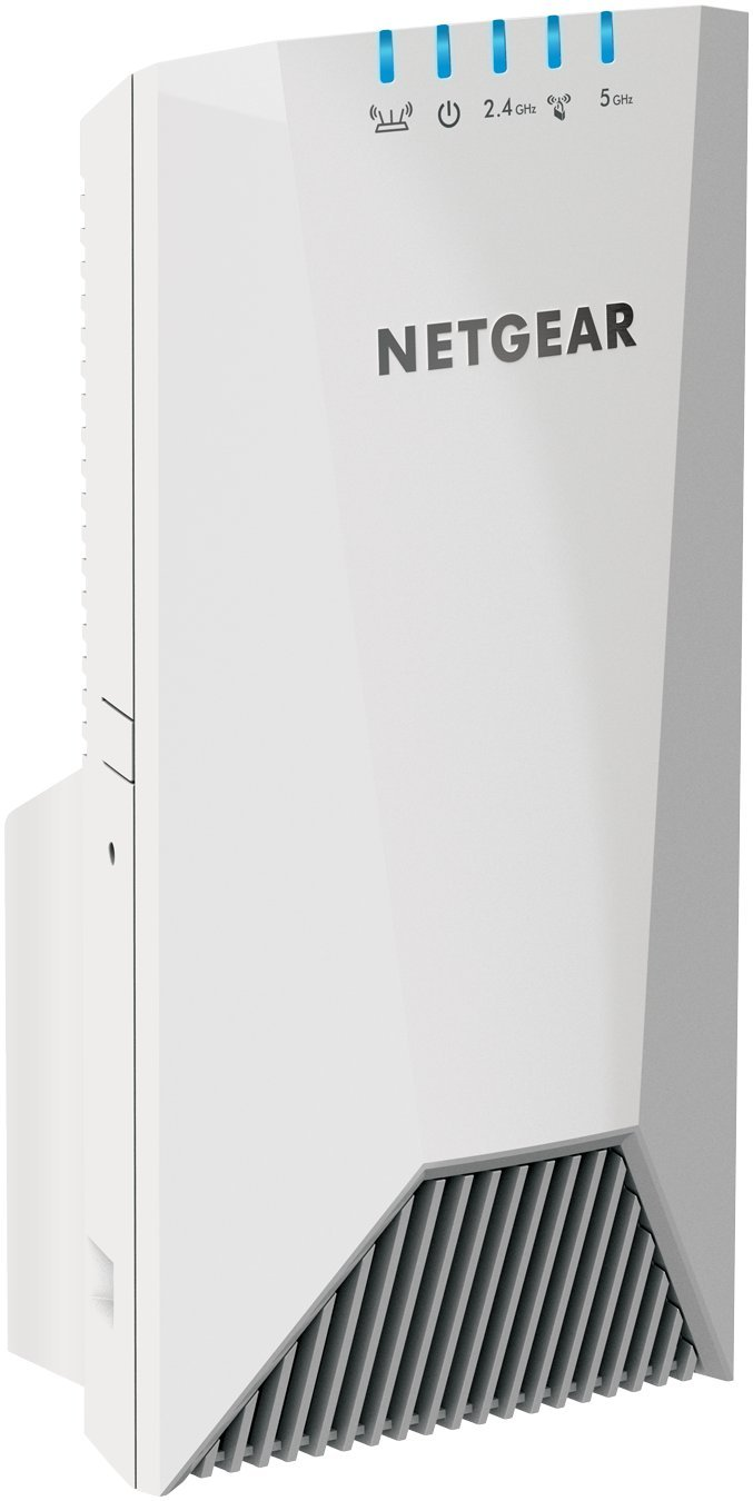 NETGEAR WiFi Mesh Range Extender EX7500 - Coverage up to 2000 sq.ft. and 40 devices with AC2200 Tri-Band Wireless Signal Booster & Repeater (up to 2200Mbps speed), plus Mesh Smart Roaming by NETGEAR