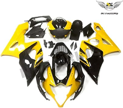NT FAIRING Blue Black Injection Mold Fairing kits Fit for Suzuki 2005 2006 GSXR 1000 K5 05 06 GSX-R1000 Aftermarket Painted ABS Plastic Motorcycle Bodywork