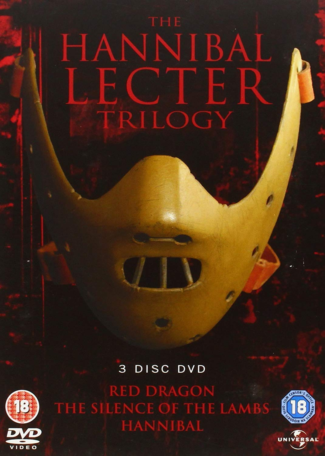 The Hannibal Lecter Trilogy [DVD] by Anthony Hopkins: Amazon.es: Cine y Series TV