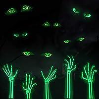 Lamdgbway Glow In the Dark Sticker Verwijderbare PVC Lichtgevende Muurstickers Halloween Decoraties Fluorescerende…