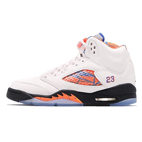 eb85b339aa7c40 Jordan Retro 5 quot International Flight Sail Racer Blue-Cone-Black (Big