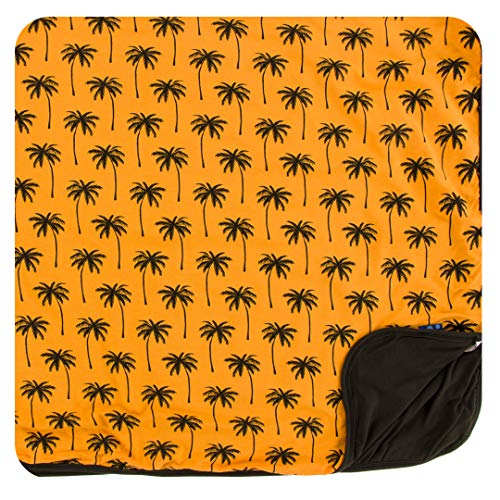 Kickee Pants Print Toddler Blanket (Apricot Palm Trees - One Size) ()