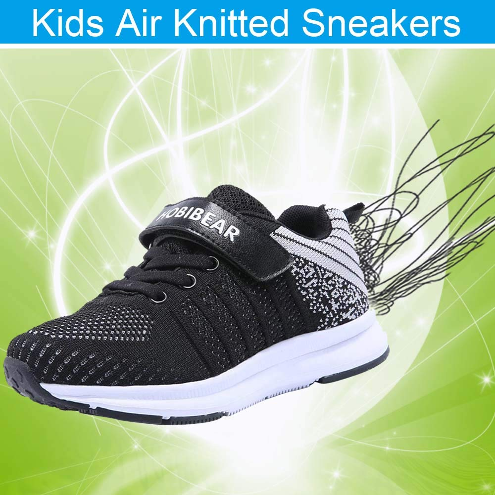 Athletic Tennis Shoe Comfort Mesh Breathable Kids Running Lightweight Shoes BEEDPAN Sneakers for Boys and Girls