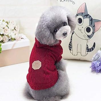 TYJY Ropa Para Perros Ropa Para Perros De Invierno Mascotas Perros Abrigo Para Perros De Punto