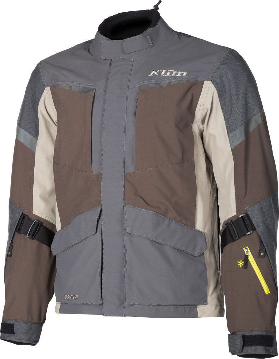 Klim Carlsbad Mens Off-Road Motorcycle Jackets - Brown/Small