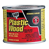 Plastic Wood 4 oz. Natural Solvent Wood Filler (12-Pack)