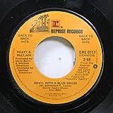 PRATT & McCLAIN 45 RPM DEVIL WITH A BLUE DRESS / HAPPY DAYS
