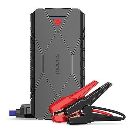 Amazon.com: SUAOKI U18 1200A Pico 16000mAh Jump Starter ...