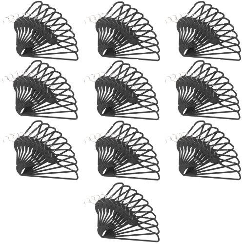 100 Pack ClutterFREE Cascade Hangers - (Velvety Cascade Hanger)