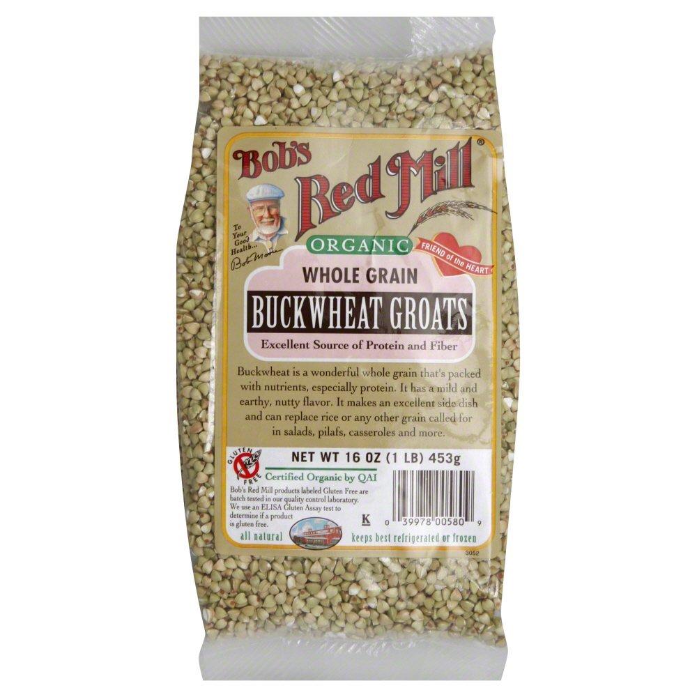 Bobs Red Mill Buckwheat Groat, Organic 16.0 OZ(Pack of 2)