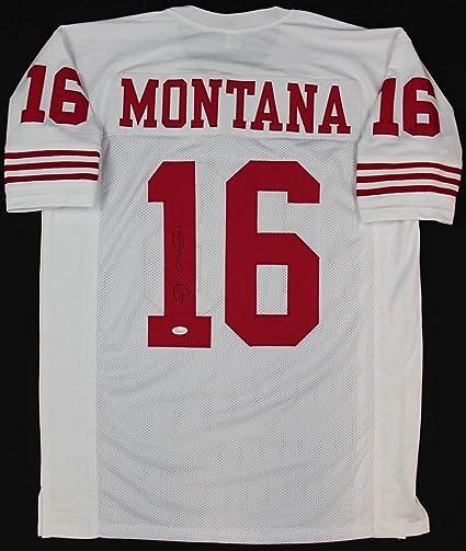 the latest 99f37 39609 Joe Montana Autographed White San Francisco 49ers Jersey ...