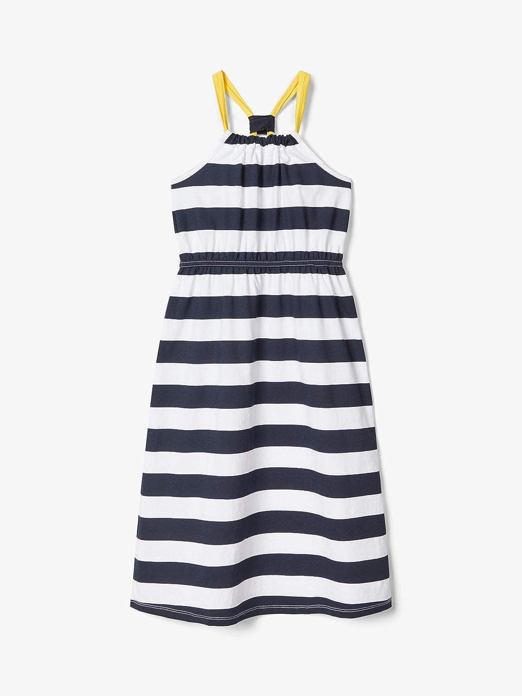 NAME IT M/ädchen Nkfflikka Sl Long Dress Kleid