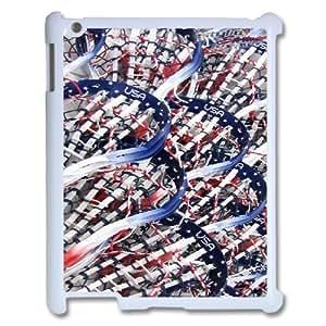 LSQDIY(R) play lacrosse iPad2,3,4 Hard Back Case, Personalized iPad2,3,4 Case play lacrosse