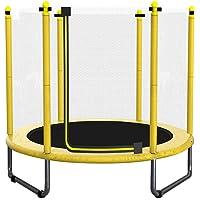 soges Gym Trampoline Rebounder Fitness Trampolin Klapptrampolin mit Netz Mini-Trampolin für Kinder 60 Inches für Heimtraining,bis zu 100 KG