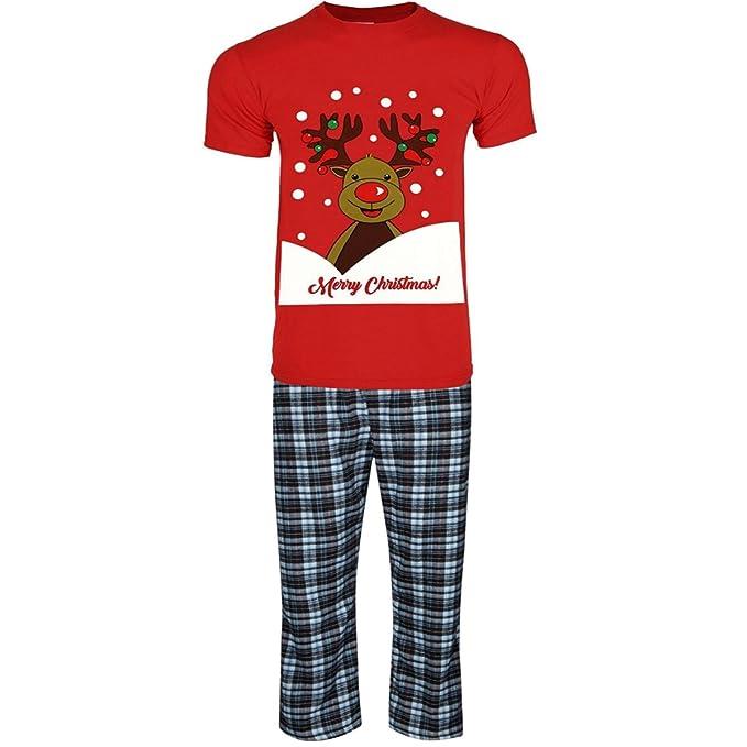 Generic - Pijama - para hombre rojo reno XX-Large