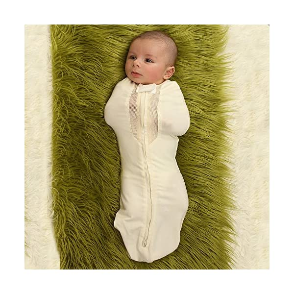 Woombie Air Nursery Swaddling Blanket – for Babies Up to 3 Months – Vented (Freebird, 5-13 lbs)