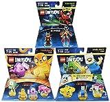 Warner Home Video -LEGO Dimensions Bundle: Adventure Time Team Pack, Ninjago Nya Fun Pack & Adventure Time Level Pack