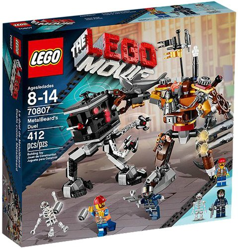 THE LEGO® MOVIE™ MetalBeards Duel Playset w/ Two Minifigures | 70807