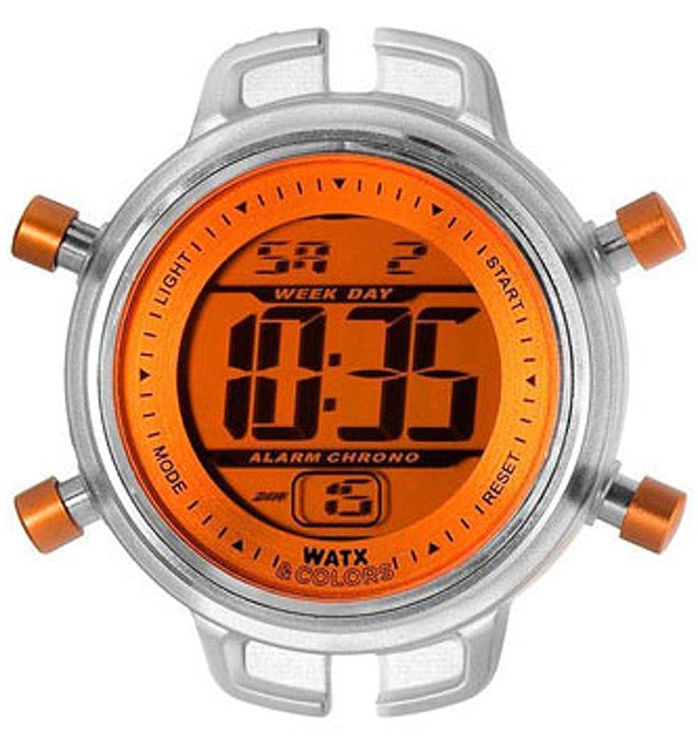 Amazon.com: Womans watch RELOJ WATX & COLORS NIÑO DIG.NARANJA RWA1501: Watches