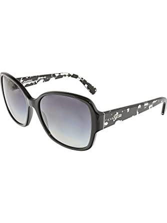 4ffcba1fe7e Coach Womens Sunglasses (HC8166) Black Grey Acetate - Non-Polarized - 58mm
