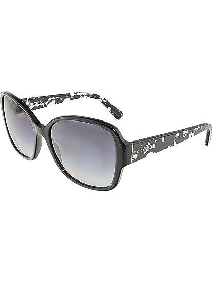 9e20d50f9e ... france coach womens sunglasses hc8166 black grey acetate non polarized  58mm eda8a 28d35