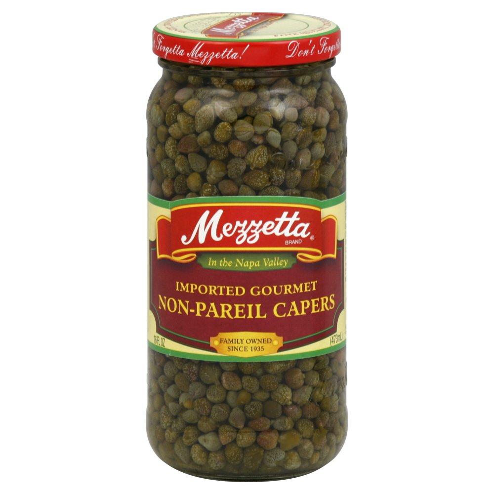 Mezzetta Caper Non Pareil 16.0 OZ(Pack of 4)