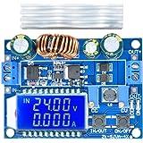 昇降圧コンバータ DiyStudio 自動昇降圧ボード DC 5.5-30V 12V to DC 0.5-30V 5v 24v 調整可能な定電流電圧 ステップアップ電圧レギュレータ 4A 35W 電源モジュール