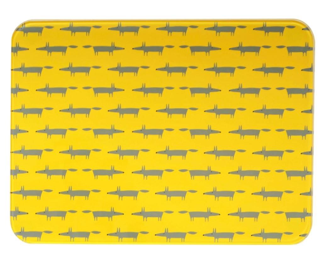 Scion Mr Fox Yellow Worktop Saver Scion Living