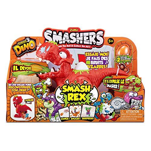 - Smashers Series 3 Dino Smash Rex Playset with 2 Exclusive by ZURU