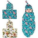 Quest Sweet Newborn Swaddle,Receiving Blankets,Blanket&Tire Cap Set (1-3 Pack)